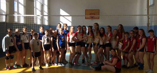 Игры первенства района по волейболу