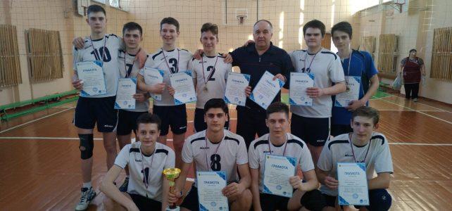Волейбол февраль 2019 юноши Троицк